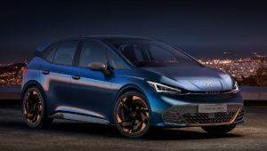 Новый электрический хетчбек Seat Cupra el-Born