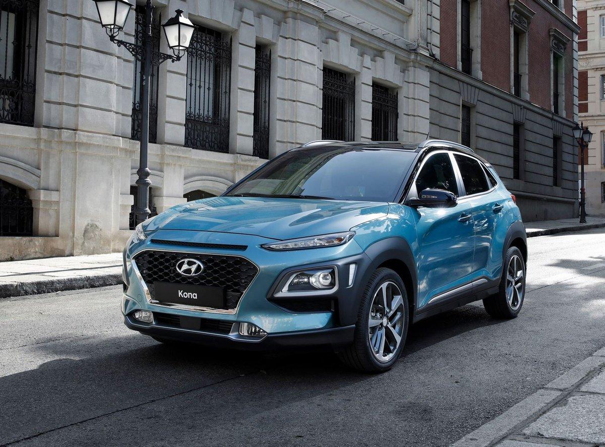 Новый Hyundai Kona — стильный и импозантный кроссовер субкомпактного класса