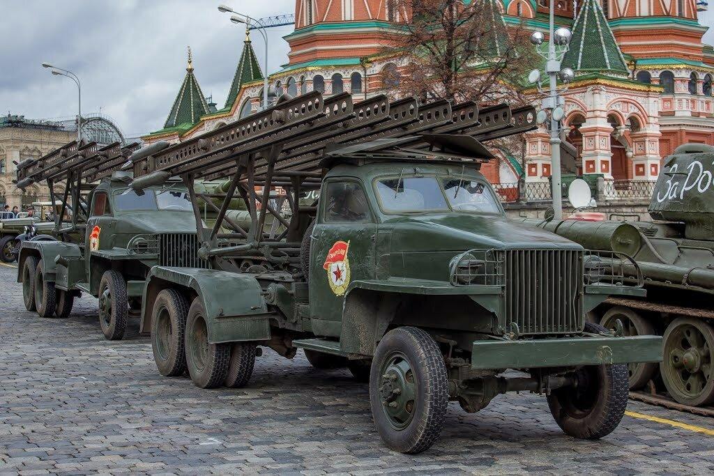 БМ-13Н Студебеккер